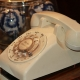 ein altes telefon steht auf enen tisch thema ist informationen zu info preise termine von sandra rumen inhaberin der praxis leb-neu in moenchengladbach